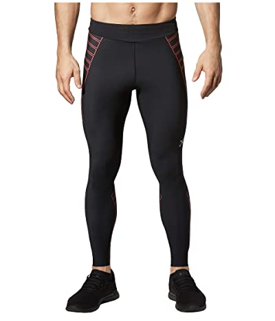 CW-X Speed Model Compression Tights (Black/Red) Men