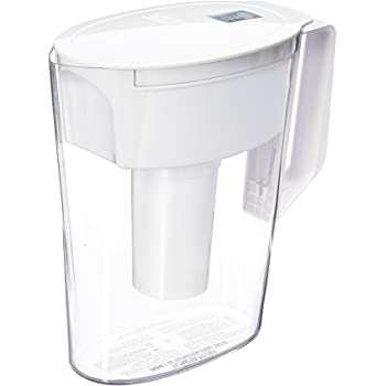 Brita SOHO White 5 Cup Water Pitcher, 11.1 x 9.5 x 4.6, White