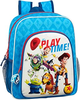 612031640 Mochila Junior Adaptable Carro Toy Story, Azul