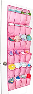 Unjumbly Shoe Storage for Women, Men and Children, Ideal Baby Room Organizer, 4 Colors Available - Complete with 4 Strong and Durable Over Door Hooks