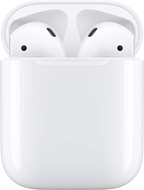-Apple AirPods met bedrade oplaadcase (2e generatie)-aanbieding