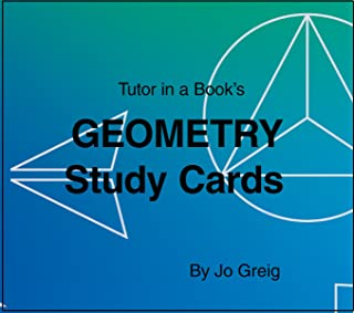 Geometry Study Cards by Tutor In a Book