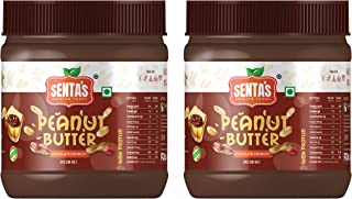 Senta's Chocolate Crunchy Peanut Butter Combo (Pack of 2) (340g + 340g = 680g)