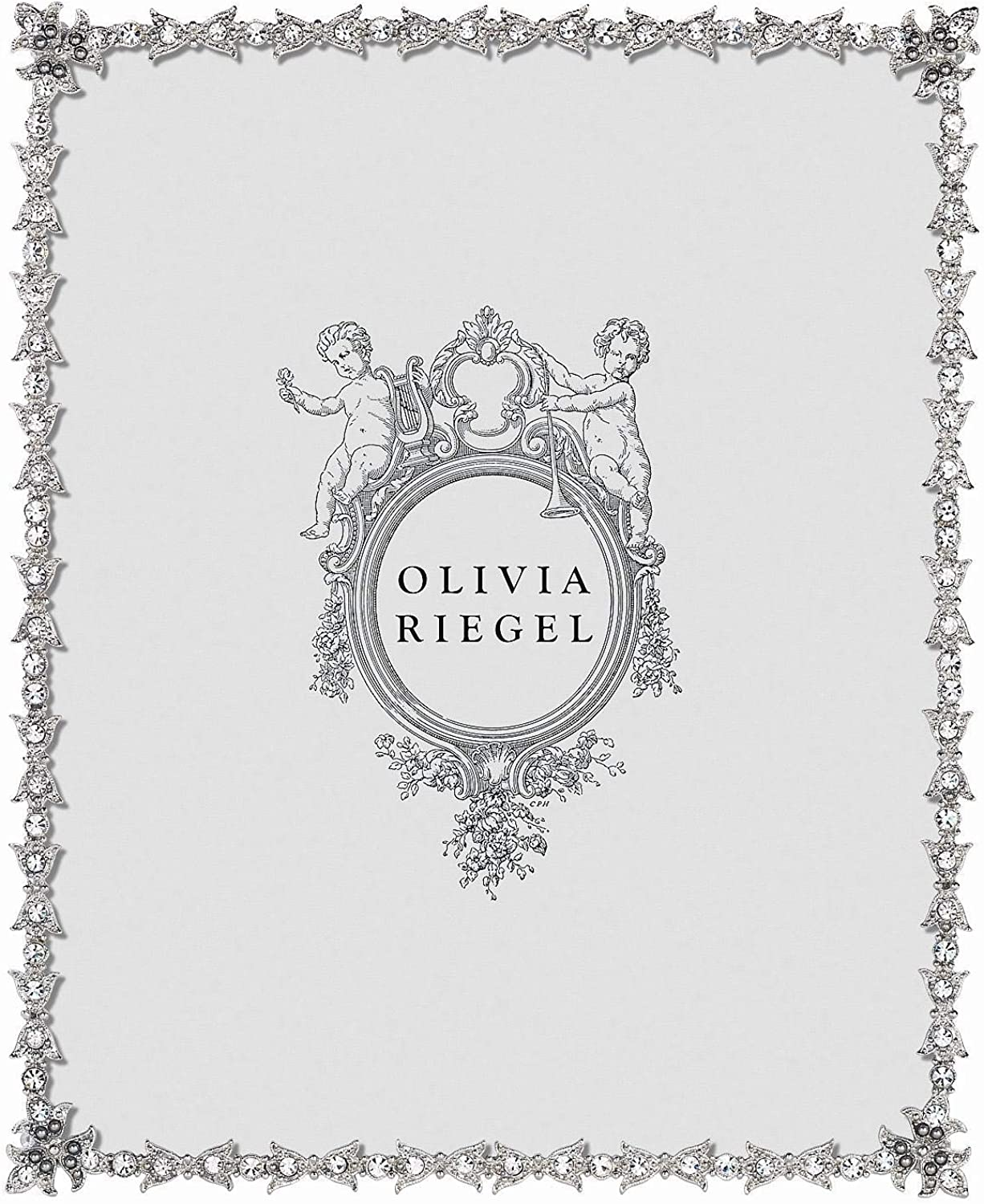 LUXEMBOURG Austrian Crystal 8x10 frame by Olivia Riegel - 8x10