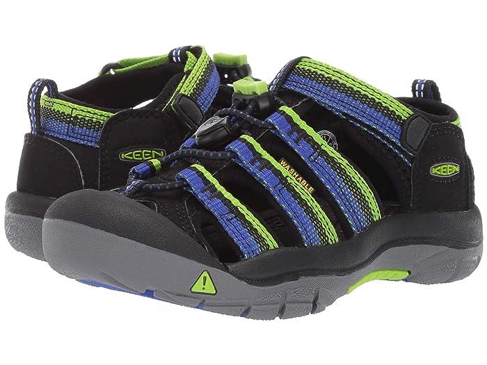 Keen Kids  Newport H2 (Toddler/Little Kid) (Racer Black) Boys Shoes