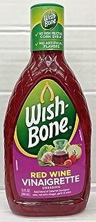 Wishbone Red Wine Vinaigrette Salad Dressing 15 oz. (2 pack)