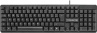 Tacens Anima AK0 - Teclado profesional (membrana, pulsación optimizada, diseño ecológico, USB 2.0, Mac/Linux/Windows