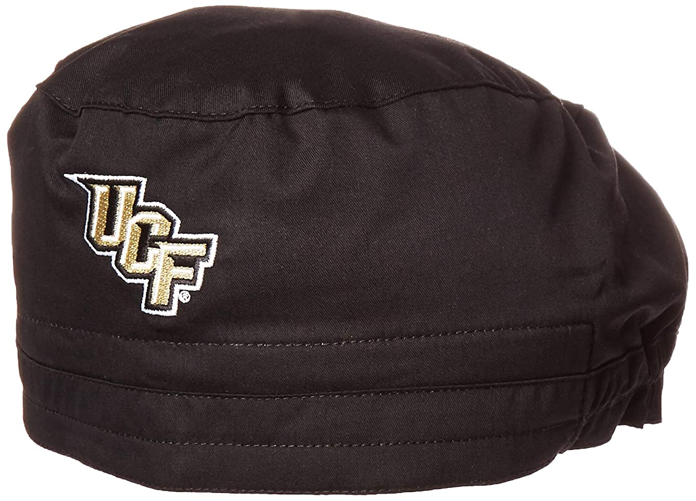 WonderWink Men's University of Central Florida Scrub Cap, Black, 1SZ