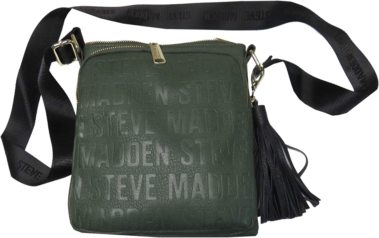 Steve Madden Women's Purse Handbag BGlam Crossbody Olive