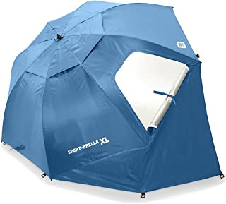 Sport-Brella XL Vented SPF 50+ Sun and Rain Canopy Umbrella for Beach and Sports Events (9-Foot)