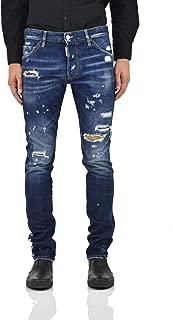Cool Guy Jean Tartan Men - Size: 46 - Color: Blue - New