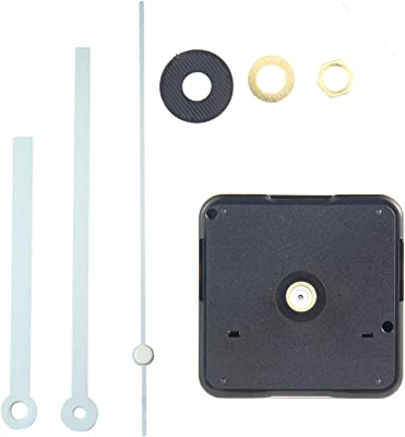 Aolvo Silence Quartz Clock Movement, DIY CLOCK Mechanism 1/ 2 Inch Maximum Dial Thickness