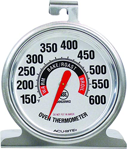 AcuRite-00620A2-Stainless-Steel-Oven-Thermometer