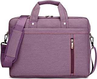 Waterproof Computer Laptop Bags Notebook Messenger Bag for Men/Women 13 14 15 17 Inches,Purple,13 Inches