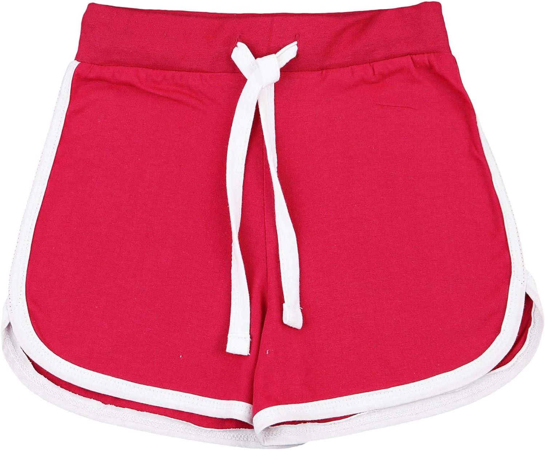 Amazon.com: Kids Girls Shorts 100% Cotton Dance Gym Sports Pink Summer Hot  Short Pant 5-13Yr: Clothing