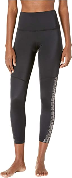 Down The Line High-Waisted Midi Leggings