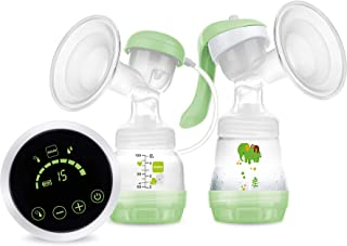 MAM 2-in-1 Single Electric Breast Pump, Flexible Use Electric and Manual Breast Milk Pump, Comforting Silicone Breast Pum...