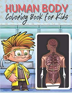 Human Body Coloring Book for Kids: My First Human Body Book | Human Body Parts and Human Anatomy Coloring Book, Page Large...