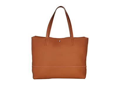 ECCO Jilin Tandem Shopper (Amber/Apricot) Handbags