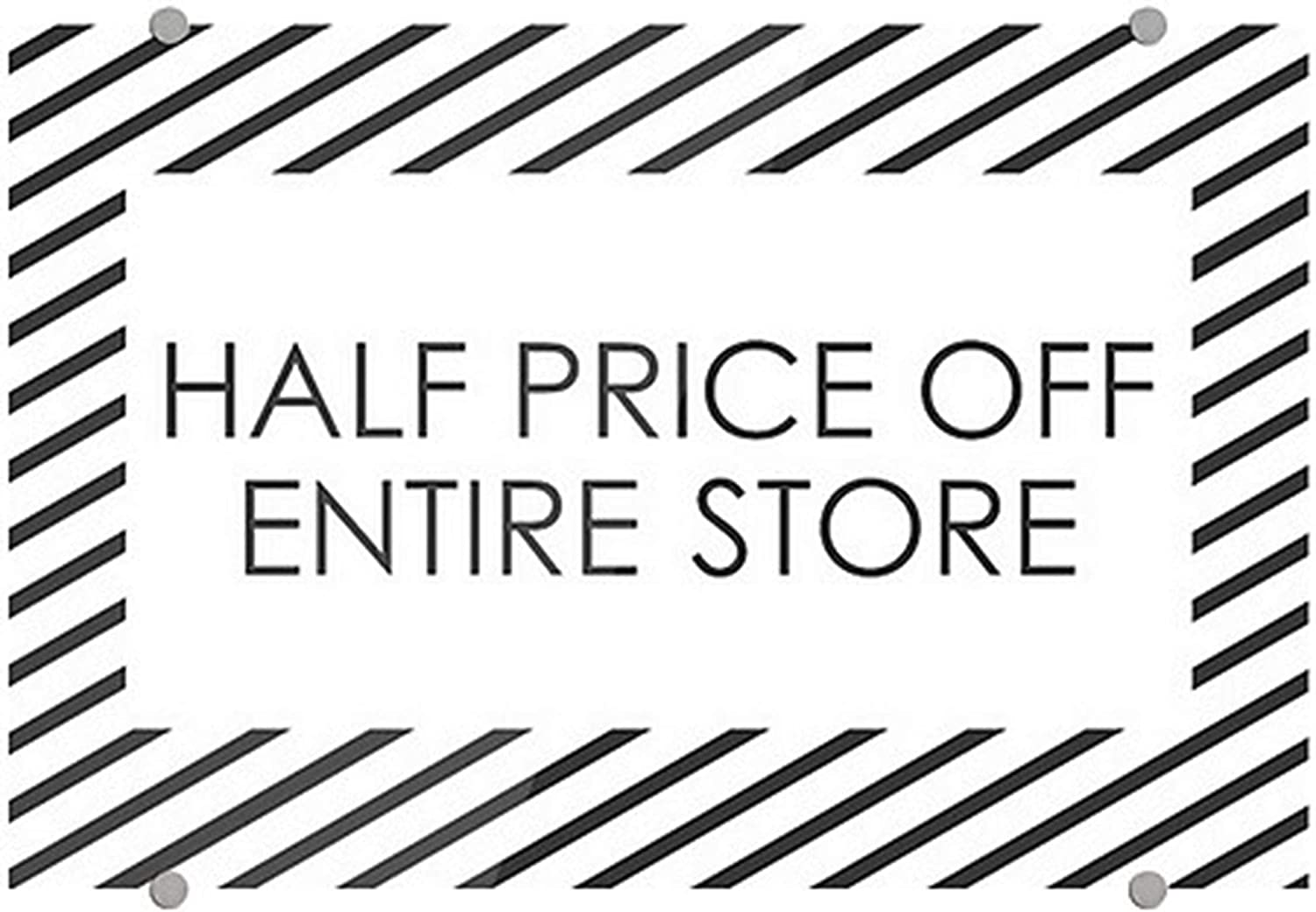 Overseas parallel import regular item CGSignLab 2455669_5absw_27x18_None Half Price Off Entire Memphis Mall - Store