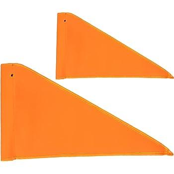"Evo Bicycle Bike or Trike Safety Orange Triangle Flag with 72/"" Pole"