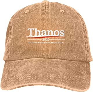 LIANCAP Thanos 2020 Make The Universe Balanced Again Baseball Cap Dad Hat Adjustable Cap Unstructured Hat Visor Cap