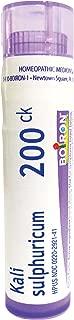 Boiron Kali Sulphuricum 200CK, 80 Pellets, Homeopathic Medicine for Colds