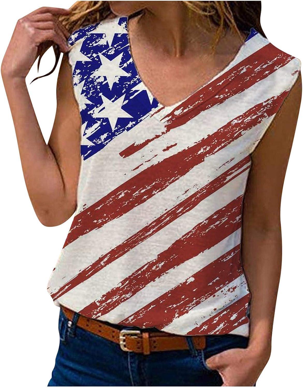AODONG Womens Tank Tops, Womens Fashion Graphic Printed Vest Tshirt Casual Summer Tank Top Sleeveless Tunic Tee Blouse