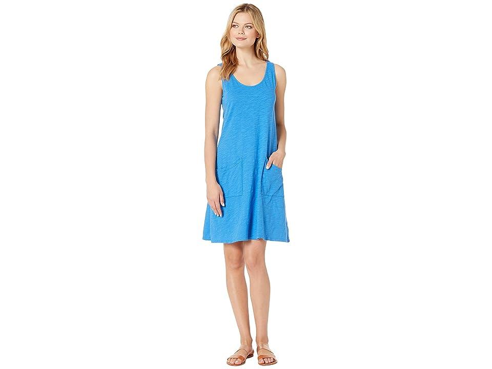Fresh Produce Drape Dress (Atlantic Blue) Women