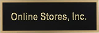brass name plates online