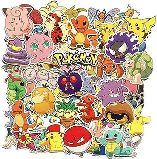 Sanmatic 80 stuks stickerverpakking, unieke koele stickers voor kinderen, tieners, notebook, gitaar, skateboard, Ps4, reis...