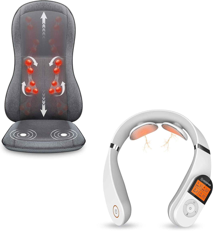 Comfier Full famous Back Massager Neck 3 Bundle 2D Heat Our shop OFFers the best service with