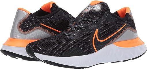 Black/Total Orange/Particle Grey