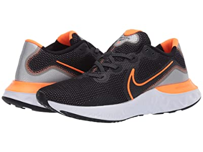 Nike Renew Run (Black/Total Orange/Particle Grey) Men