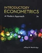 Introductory Econometrics: A Modern Approach (MindTap Course List)