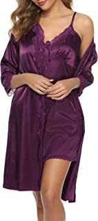 Best satin polyester nightgown Reviews