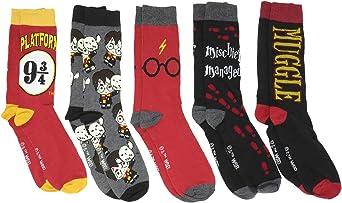 Harry Potter Socks 5 Pair Pack