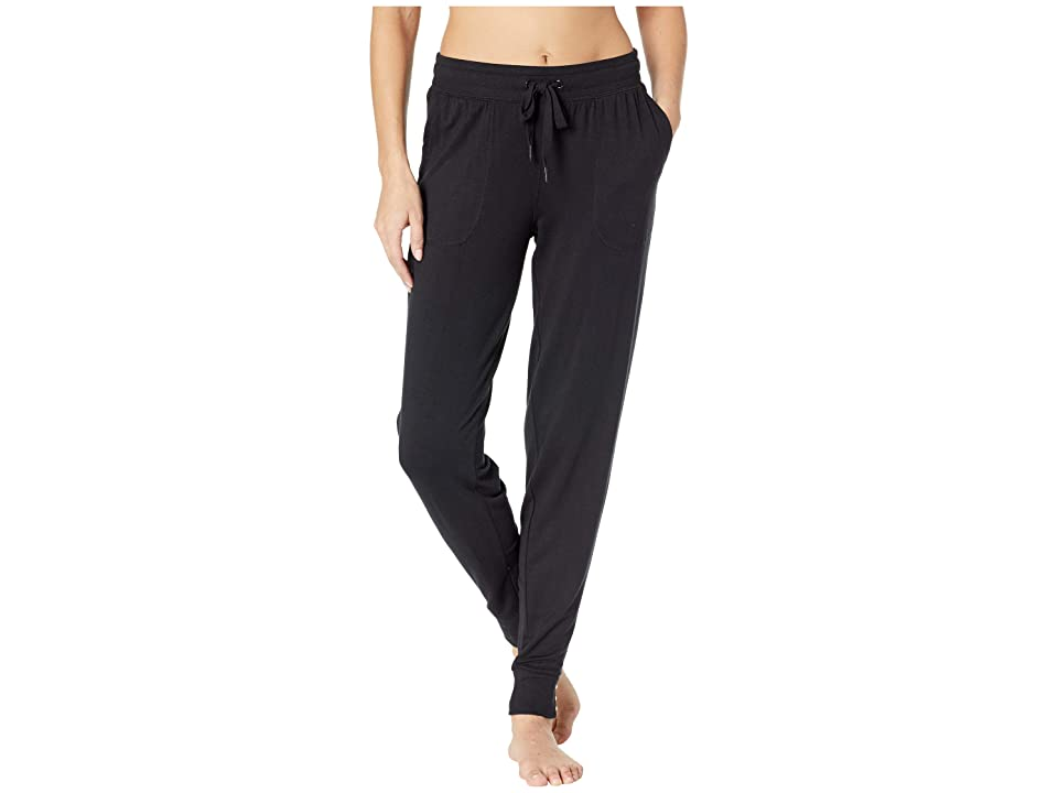 P.J. Salvage Luxe Affair Joggers (Black) Women
