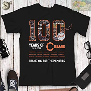 100 Years Of Chicago 1920-2020 Football Champions Celebration 100th-Anniversary King of The North Customized Handmade Hoodie/Sweater/Long Sleeve/Tank Top/Premium T-shirt