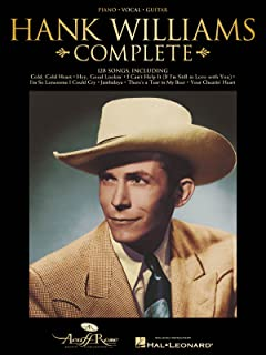 Hank Williams Complete - Piano/Vocal/Guitar Artist Songbook