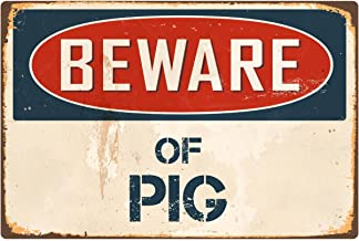 XLD Store Beware Of The Guinea Pig Novelty Wooden Hanging Shabby Chic Plaque Guinea Pigs Sign Gift