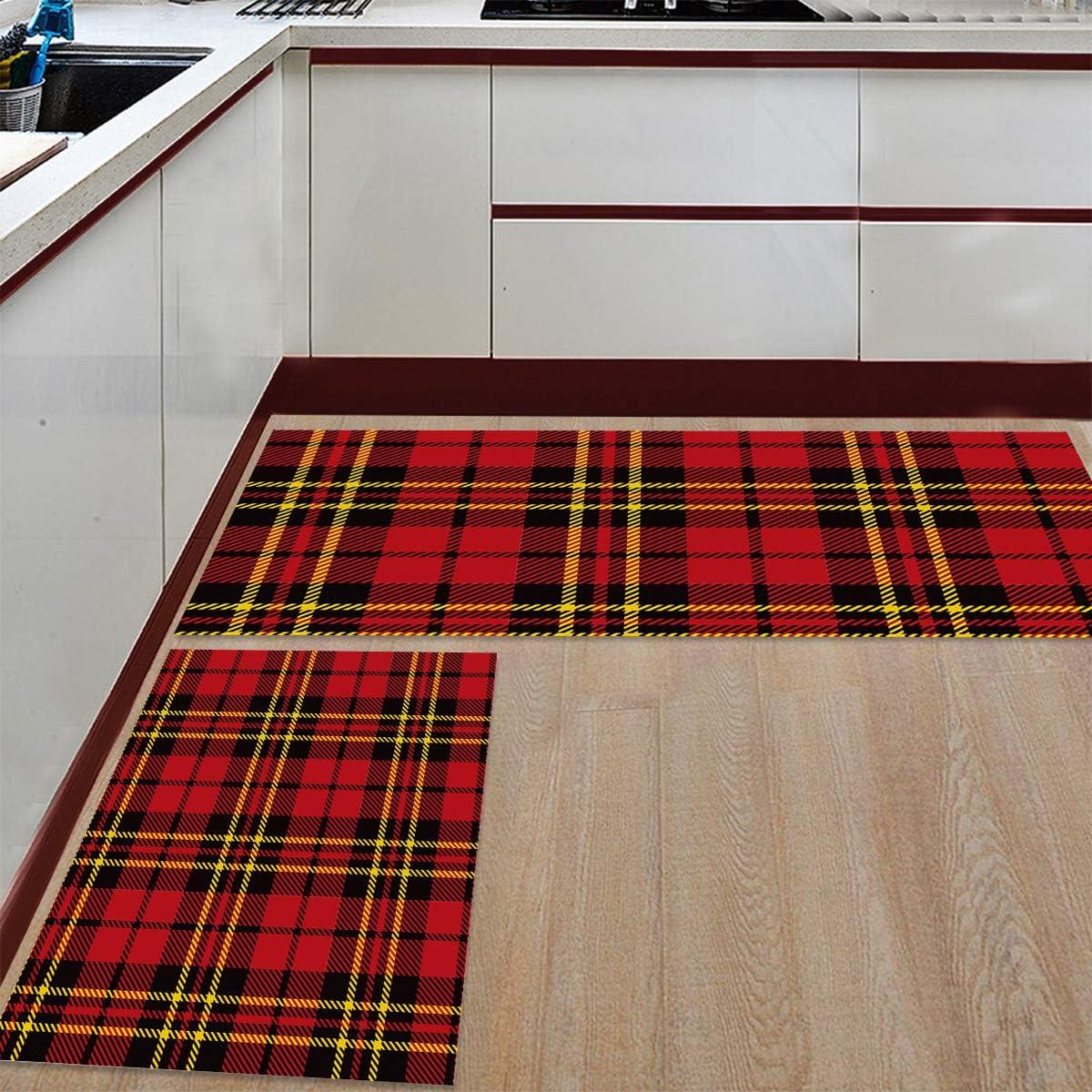 Womenfocus Kitchen shopping Mat Set Anti-WearNon-Slip Limited time cheap sale Rug Floor Pi 2