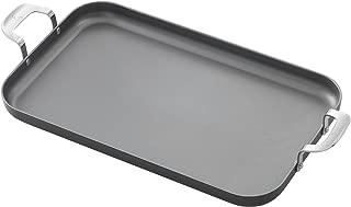 Emeril Lagasse 62929 Dishwasher safe Nonstick Hard Anodized Double Burner Griddle, 11