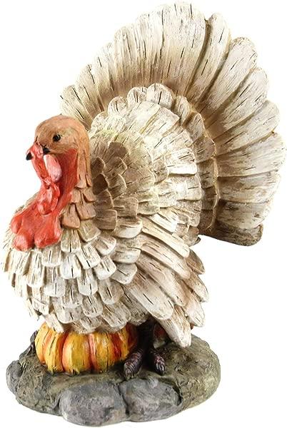 Northlight 9 5 Turkey And Pumpkin Thanksgiving Harvest Table Top Figurine
