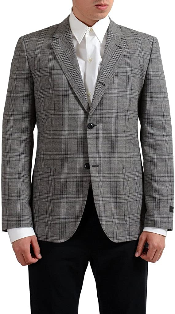 Marc Jacobs Multi-Color Checkered Two Buttons Men's Blazer