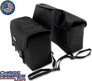 Chase Harper 3775 Phoenix Black Saddle Bag - 21.2 Liters