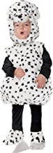 UNDERWRAPS Toddler's Dalmatian Puppy Plush Belly Babies Costume, White, Extra Large