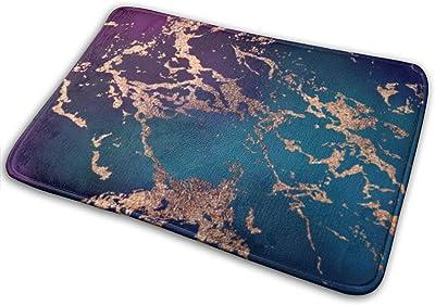 Marble Luxe Decor Door Mat Rug Indoor/Front Door/Shower Bathroom Doormat, Non-Slip Doormats, 23.6 X 15.8 Inch