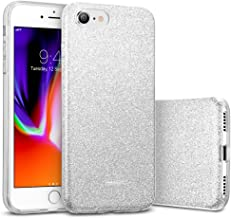 ESR iPhone 8 Case, iPhone 7 Case, Glitter Case Bling Sparkle Three Layer Shockproof Soft TPU Outer Cover + Hard PC Inner Protective Shell Cover for Apple 4.7