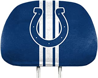 NFL Full-Print Head Rest Covers, 2-Pack